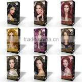 Dexe hair dye hair color cream brands with 12 colors