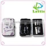 Wholesale high quality nail care kit stainless steel manicure set porable metal manicure kit nail clipper