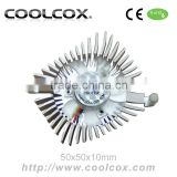 CoolCox Graphic card cooler VC-AL5008,VGA heatsink with cooling fan,VGA cooling fan,for nvidia Geforce,hole distance 80mm