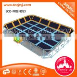 Simple trampolines for small backyards trampoline fitness manufacturer for sale