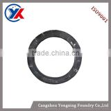 ISO9001certificate low price iron clamping ring ,iron cast casting clamping ring,cast iron parts