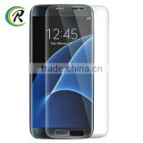 High quality 3d curved full coverage glass film for Samsung S7 edge S7 edge glass screen guard