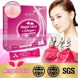 Angel lala brand 6000mg collagen powder cherry flavor