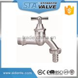 ART.2008 STA supplier high quality 1/2*3/4 dn15 Brass Bibcock, outdoor faucet, brass garden tap/washing machine in China