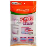 2013 wholesale 110 micron vacuum bags, vacuum storage bag, vacuum compressed mattress bag