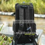 New fashionable metal zipper camera case,camera backpack