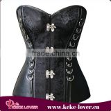 latest fashion designer overbust waist trainer corset good quality waist slimming women corset wholesale sexy steel boned corset