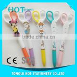 Express alibaba sales Multi-functional scissors style promotional advertising plastic ball pen