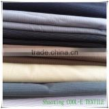 Stock 64%P 30%R 6%SP TR fabric for suiting