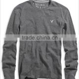 Mens Long Sleeve Bamboo T-shirts with Tagless Label