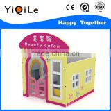 2016 Newest outdoor wooden playhouse durable wooden cubby house cheap wood toys for kids