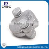 CHBC ISO9001 Approved Two Bolts Aluminum Parallel Groove Clamps For Sale