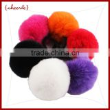 New Style rabbit fur ball wholesale hair band