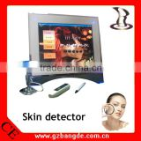 2013 Beauty salon/home use touch screen beauty care equipment skin diagnosis purpose BD-P006