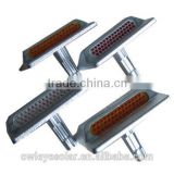 43 bead cat eye steel casting road stud/stainless steel road stud /galvanized sheet steel road stud