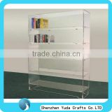 glass door book cabinet study room book cabinet clear acrylic customized display cabinet