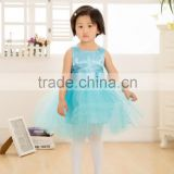 Kids Princess Wedding Flower Girl Dresses with Belt,Wholesale Baby Girl Dress Made In Yiwu,vintage flower girl dresses