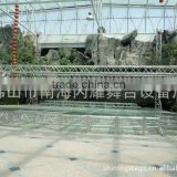 Aluminium mobile stage,truss system
