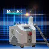 2016 beauty salon equipment Q-switched nd yag laser eyebrow embroidery tattoo machine removal