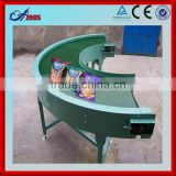 Adjustable speed small conveyor belt roller circular conveyor belt air slide conveyor belt