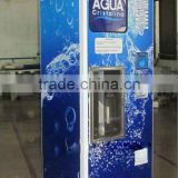 Water Vending Machine with lamp box for advertisement/cash of coin and paper money and card reader water vending machine