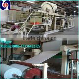 2400mm high speed tissue paper making machine single-cylinder and single-dryer parent toilet paper roll making machine