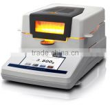Halogen lamp Moisture Analyser and Meter, Digital Moisture Analyser