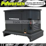 Dual Fuel !!! 60dB!!! POWERGEN NG/LPG Soundproof Super Silent Stationary Standby Back-up Natural Gas Generator 10KW