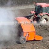 hot sale new design top quality tractor towed compost turner windrow mixer