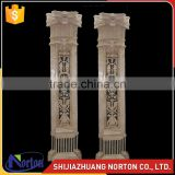 Luxury polished marble roman pillar design NTMF-C216S