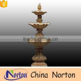 Hand-carved four layers natural marble antique water fountain sale NTMF-SA074L