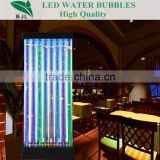 acrylic bubble wall water column light romantic backdrop wedding decoration