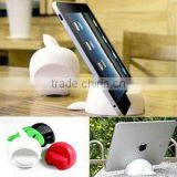 2012 HOT design silicone phone stand holder for iphone 5