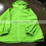 Custom sports summer light jacket sun protection breathable waterproof women wind jacket
