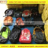 Second hand clothing shoes and bags for sale used school bag secondhand free big bags