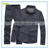 GuangZhou factory OEM Man breathable long sleeve UV protection fishing shirt