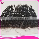 Wholesale Virgin Hair Vendors 13 By 4 Full Lace Frontals With Baby Hair 100% Brazilian Hair Closure Deep Curly