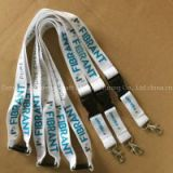 Lanyard Type Safety Breakaway Neck Strap Lanyard, retractable Polyester Woven customized logo printed id card holderLanyards