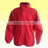 190T Nylon/PU Jacket