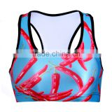 2015 Oeko Comfortable Quick Dry Breathable for women fitness wear Lady's Sports Bra S131-41
