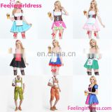 New Design Top Quality Oktoberfest Costume Plus Size Dirndl Dress