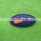 3d soft silicone rubber custom logo patch