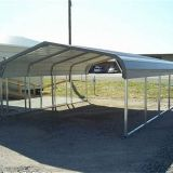 pipes shade structure carport cheap prefab metal shelter for boat