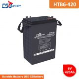 Csbattery 6V420ah Energy Storage Gel Solar Battery for Wind-Power-Storage/Solar-Street-Lights/Lamp