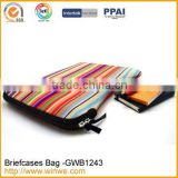 Hot sale neoprene laptop handbag notebook tablet PC briefcase computer bag