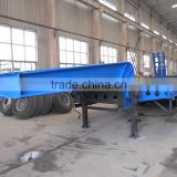 Dongfeng tri-axle low bed semi-trailer for sale