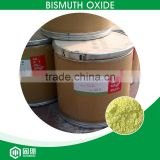 paint,firework,glass,electronic raw material Bi2O3 bismuth trioxide or bismuth oxide