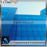 Most durable steel frame exterior building glass curtain walls