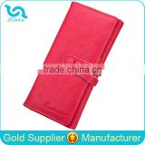 Stock Wholesale 5 Colors Suede Leather Hasp Money Clip Wallet