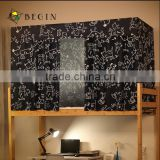 Students' dormitory polyester printing shading bedspread